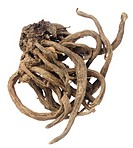 Dried thistle root
