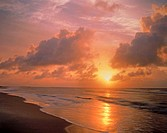 USA, Florida, St. George Island State Park, sunrise