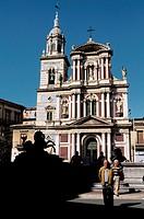 Caltanissetta. Sicily. Italy.
