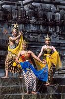 Indonesia, Java, Prambanan, Ramayana Dancing