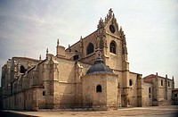 The Gothic Cathedral, Palencia, Castile-Leon, Spain