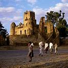 Fasilidas Castle Gondar Ethiopia