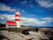 Pointe-des-Monts Lighthouse Quebec Canada
