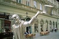 Old City Sculptures, Bratislavia, Slovakia