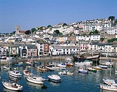 Harbor View, Brixham, Devon, England