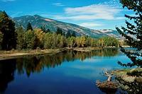 Bitteroot River Stevensville Montana, USA