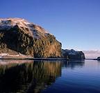 Heimaklettur Cliff Heimaey Island Iceland