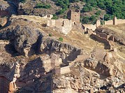 Main castle, Daroca. Zaragoza province, Aragón, Spain
