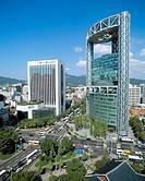 10601181, architecture, Chongno Tower, Korea, Asia, modern, Seoul, South Korea, skyscraper, block of flats, high_rise, buildin
