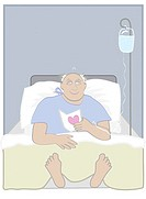 Hospital Love Linda Braucht (20th C. American) Computer Graphics