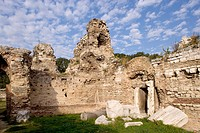 Ruins of Roman baths, Varna. Bulgaria