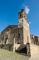 St. Martin´s church (14th-18th century), Almonaster la Real, Sierra de Aracena y Picos de Aroche Natural Park. Huelva province, Andalusia, Spain