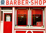 Barber shop, Dublin, Ireland