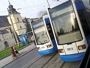 polonia, cracow, bus