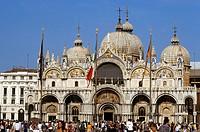europe, italy, veneto, venice, san marco basilica
