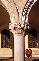 europe, italy, veneto, venice, piazza san marco, palazzo ducale