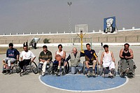 afghanistan, kabul, afghan disabled national basket