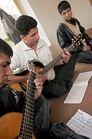 afghanistan, kabul, victoria school, the first school of music for women too