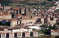 Santiago de Compostela. La Coruña province, Galicia, Spain