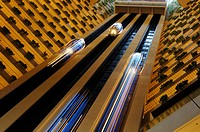Hotel Pan Pacific Singapore. The tallest Hotel Atrium in South East Asia