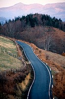 Road. Pyrenees. Navarra. Spain