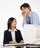 business related images like business woman and business man