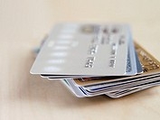 Credit and bank cards (thumbnail)