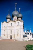 Cathedral of the Assumption (16th century), The Kremlin, Rostov the Great. Golden Ring, Russia