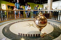 Giant pendulum at Science Center. Balboa Park. San Diego. California. United States
