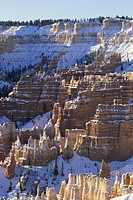 Bryce Canyon National Park, vertical view, UT, USA