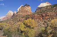 Zion Canyon National Park, UT, USA
