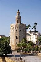 Torre del Oro. Sevilla. Andalucia. Spain.