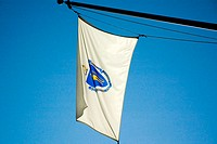 Close-up of a flag, Boston, Massachusetts, USA (thumbnail)