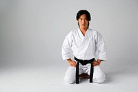 Blackbelt Kneeling