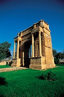 Tunisia, Sbeitla, Arch of Triumph