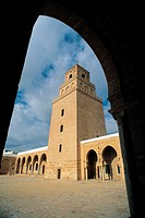 Tunisia, Great mosque of Kairouan