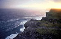 Ireland, Aran Islands, cliffs