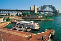 Australia, Sydney, Harbour bridge