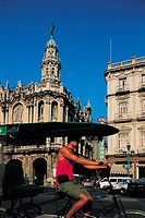 La Havana, old palace and Opera house
