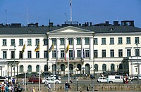Finland, Helsinki, presidential palace