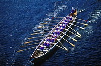 Sweden, Dalecarlia, Leksand, boat race