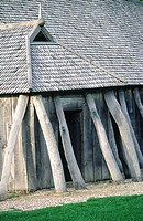 Denmark, Fyrkat, Viking house