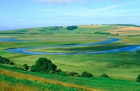England, East Sussex, South downs
