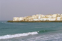 Yemen, Al Mukalla, view from the coast