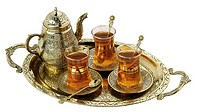 World symbols : Turkish tea