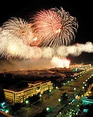 China, Beijing, fireworks