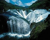 China, Guizhou province, Tianxingqiao waterfall