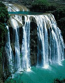 China, Guizhou province, Huangguoshu waterfall