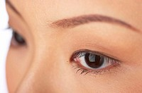 Close-up picture of a woman's eyes (thumbnail)