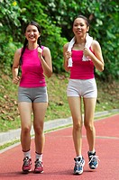Women jogging